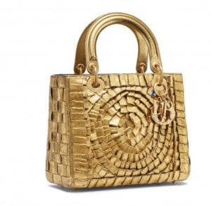 Dior Lady Dior Bag 3 by Olga de Amaral from Colombia