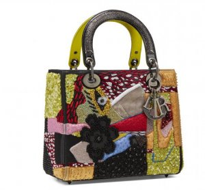 Dior Lady Dior Bag by Mickalene Thomas from USA