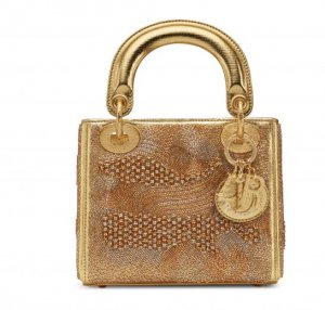 Dior Lady Dior Bag by Olga de Amaral from Colombia