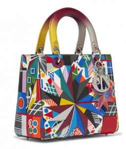 Dior Lady Dior Bag by Polly Apfelbaum from USA