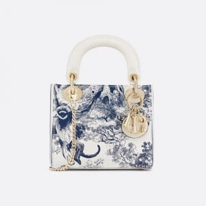 Dior Mini Lady Dior Toile De Joy Bag 1