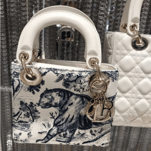 Dior Mini Lady Dior Toile De Joy Bag 2