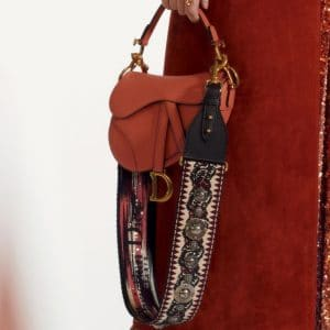 Dior Pink Saddle Bag 2 - Pre-Fall 2019