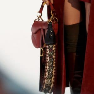 Dior Red Saddle Bag - Pre-Fall 2019