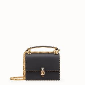 Fendi Black Kan I Small Bag
