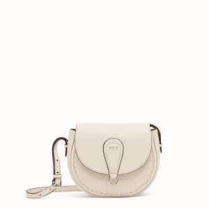 Fendi White Shoulder Bag