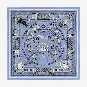 Hermes Silk Up Silk Bandana 55