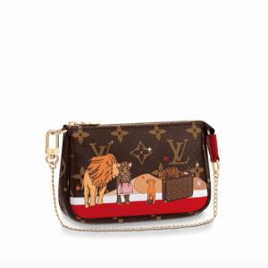 Louis Vuitton Christmas Animation Mini Pochette Accessoires 1