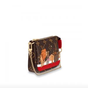 Louis Vuitton Christmas Animation Mini Pochette Accessoires 2