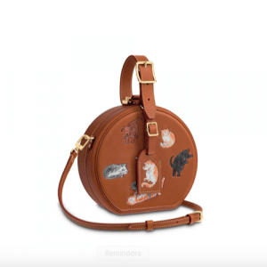 Louis Vuitton x Grace Coddington Petite Boite Chapeau Bag 1