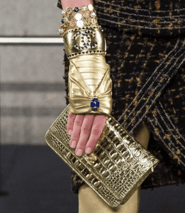Chanel Gold Clutch Bag - Pre-Fall 2019