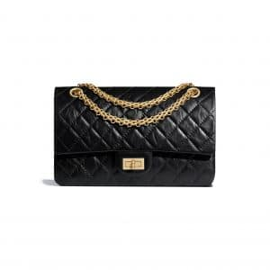 Chanel Black 2.55 Reissue Size 225 Bag