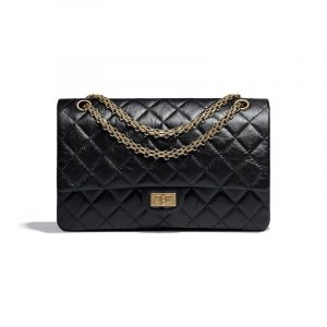 Chanel Black 2.55 Reissue Size 226 Bag