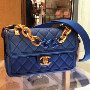 Chanel Blue Sunset By The Sea Flap Bag 2