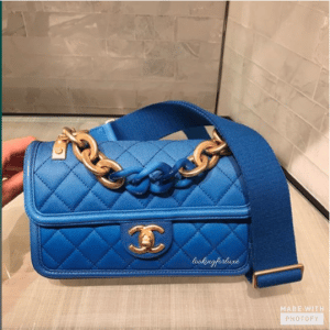 Chanel Blue Sunset By The Sea Small Flap Bag