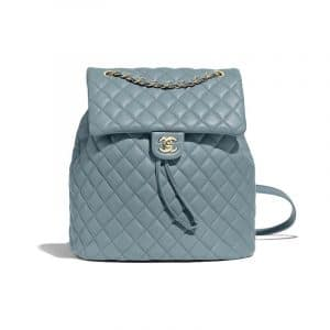 Chanel Blue Urban Spirit Large Backpack Bag