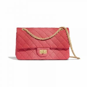 Chanel Coral Denim 2.55 Reissue Size 225 Bag