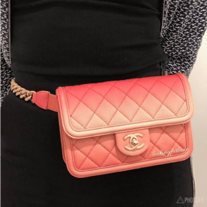 Chanel Coral Sunset By The Sea Waist Bag