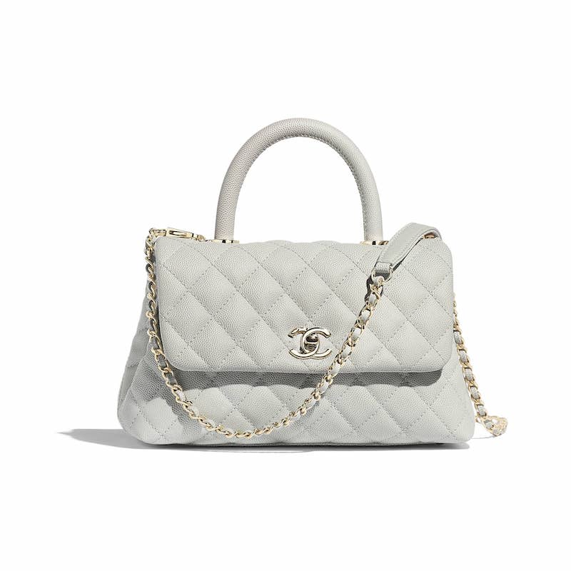 6b37b6fc055d Chanel Mini Coco Handle Bag With Calfskin Handle | Stanford Center ...
