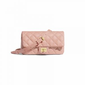 Chanel Light Pink 2.55 Reissue Waist Bag