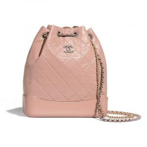 Chanel Light Pink Gabrielle Backpack Bag