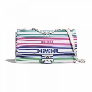 Chanel Multicolor:White Biarritz:Deauville Flap Bag