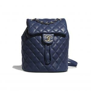 Chanel Navy Blue Urban Spirit Mini Backpack Bag