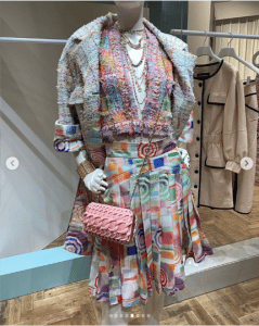 Chanel Pink Mini Crossbody Bag