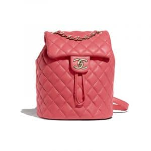 Chanel Pink Urban Spirit Mini Backpack Bag