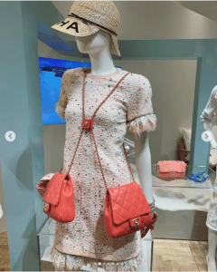 Chanel Red Side Packs Bag 2