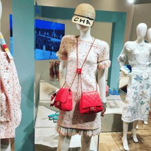 Chanel Red Side Packs Bag