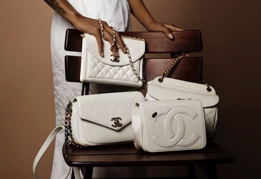 d47a28ffd350 Chanel Spring/Summer 2019 Act 1 Bag Collection Features Whites and  Multicolor Bags