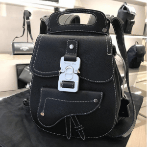 Dior Black Mini Backpack Bag