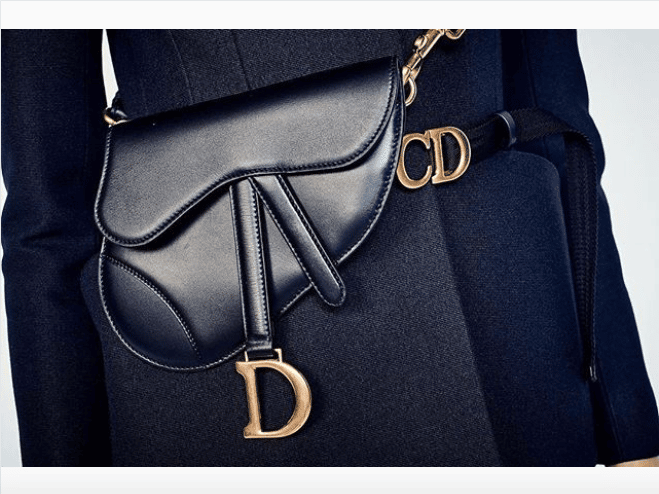 Dior Black Mini Saddle Crossbody/Belt Bag