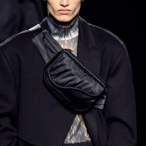 Dior Black Nylon Messenger Bag - Fall 2019