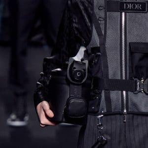 Dior Black Small Top Handle Bag - Fall 2019