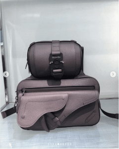 Dior Brown Mini Messenger Bags