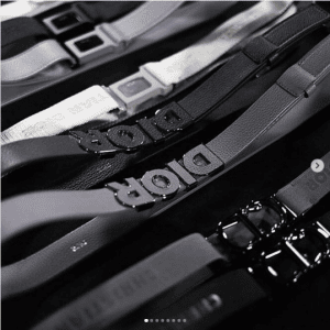 Dior Fall 2019 Belts