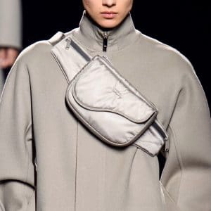 Dior Gray Nylon Messenger Bag - Fall 2019