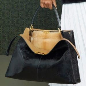 Fendi Black Peekaboo Bag - Pre-Fall 2019