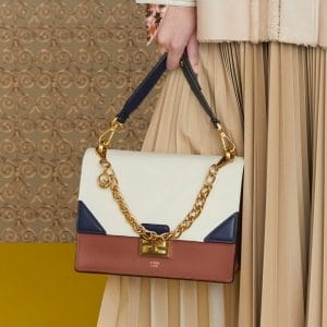 Fendi Multicolor Flap Bag - Pre-Fall 2019