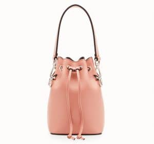 Fendi Pink Mon Tresor Bucket Bag