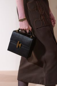 Hermes Black Cinhetic Boxy Top Handle Bag - Pre-Fall 2019
