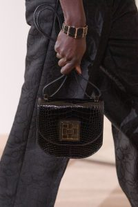 Hermes Black Crocodile Mosaïque Bag 2 - Pre-Fall 2019