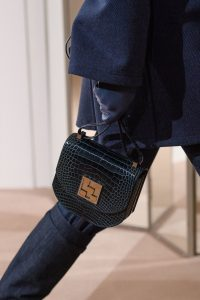 Hermes Black Crocodile Mosaïque Bag 3 - Pre-Fall 2019