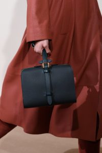 Hermes Black Top Handle Bag - Pre-Fall 2019