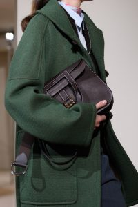 Hermes Brown Halzan Bag - Pre-Fall 2019