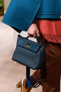 Hermes Dark Blue 24/24 Top Handle Bag 2 - Pre-Fall 2019