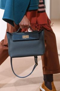 Hermes Dark Blue 24/24 Top Handle Bag - Pre-Fall 2019