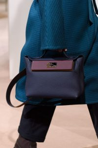 Hermes Indigo 24/24 Top Handle Bag 2 - Pre-Fall 2019